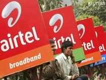 Leading GSM incumbent Bharti Airtel surged nearly 9 per cent (8.96 per cent) during the day to touch an intra-day high of Rs 334.55.