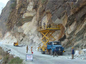 The government has approved construction of 27 strategic border roads along the India- China border at an estimated cost of Rs 1,937 crore.