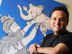 Westland gives Amish Tripathi, author of Shiva trilogy, Rs 5 cr for his next book, biggest advance paid to an Indian author by a home-grown publishing house.