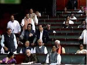 Both houses of Parliament adjourned after protests over the recent hike in petrol prices.