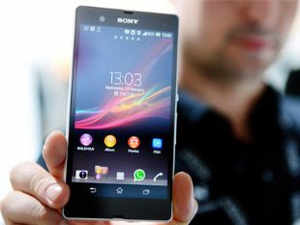 The Xperia Z would compete with the high-end phones like Apple's iPhone 5 and Samsung's Galaxy S series that have prices ranging between Rs 36,000 and Rs 59,000.