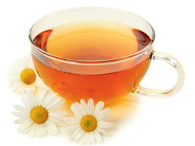 Chamomile has a reputation as a sleep-inducer like poppy, but this doesn't seem to have as direct a pharmacological reason.