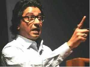 MNS chief Raj Thackeray today shot down the suggestion of his party joining the grand alliance of Sena-BJP-RPI to take on the ruling Congress-NCP.