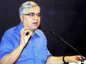 """""""We need foreign capital and also to prohibit capital outflows. Thus, we need good rating from international rating agencies,"""" Parthasarathi Shome said. (Pic: PTI)"""