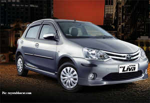 The new hatchback Etios Liva will now cost between Rs 4.46 lakh and Rs 5.99 lakh for petrol option and Rs 5.72 lakh and Rs 6.38 lakh (ex-showroom Delhi) for diesel variant.