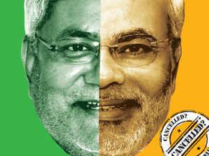 Nitish Kumar organising a show of strength in Delhi as Modi drama draws numbers