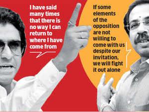 Uddhav, Raj  fighting to claim Bal Thackeray's legacy
