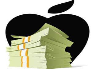 Apple has a cash pile of $137.1 billion. When an American company repatriates profits held abroad, it pays tax, and dividends are paid out of what remains.