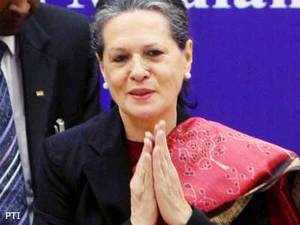 UPA Chairperson Sonia Gandhi today reached out to Mulayam Singh Yadav in Lok Sabha and asked him with folded hands to give up his demand for his resignation.