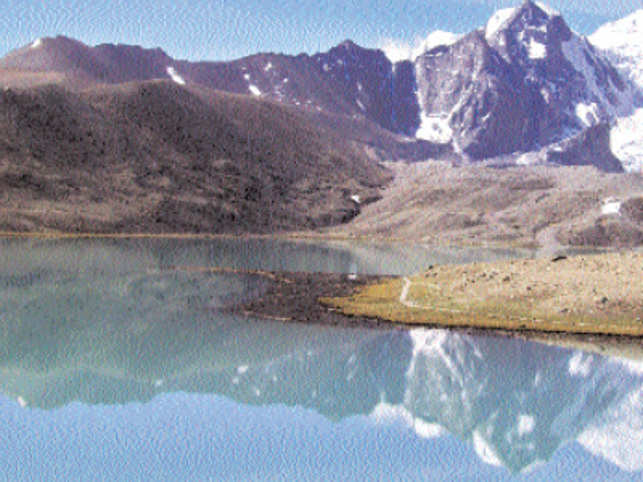 ET-Travel reader Foram Parikh's recent travels to Sikkim took her to the Gurudogmar Lake