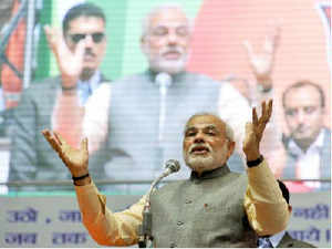 Modi is perceived to enjoy the support of sections of society that identifies itself with soft Hindutva. .