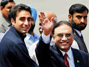 Bilawal Bhutto Zardari leaves for Dubai after a tiff with his father, President Asif Ali Zardari, over the affairs of the PPP, leaving the party without its star campaigner for Pakistan's general election.