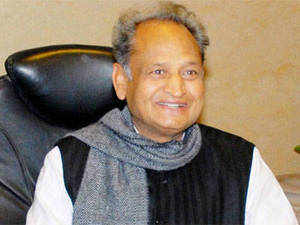 Gehlot said the opposition party failed to emerge as a replacement of the Congress as it lacked vision to come up with programmes and policies for welfare of people and the country. (Pic: PTI)