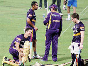 The amusement tax department of the Kolkata Municipal Corporation on Monday handed over a bill of Rs 78 lakh to Knight Riders, asking the cricket franchise to pay the amount immediately.