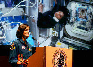 there 39 s something in space that we don 39 t know about sunita williams the economic times. Black Bedroom Furniture Sets. Home Design Ideas