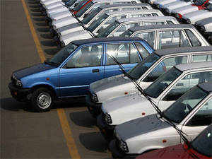 Maruti gained market share from Tata Motors, Ford India, GM India, and Volkswagen India who posted a decline in market share for FY13. (Pic: AFP)