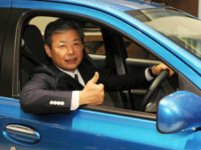 Hiroshi Nakagawa, Managing Director of Toyota Kirloskar Motor Pvt Ltd. BCCL