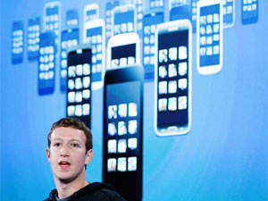 Mark Zuckerberg, Facebook's co-founder and chief executive during a Facebook press event to introduce 'Home' a Facebook app suite that integrates with Android, in Menlo Park, California on April 4, 2013. REUTERS