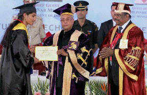 "President Pranab Mukherjee on Tuesday called for ""drastic action"" to reform the way education is being imparted in universities."