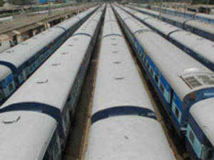 Nine coaches of the Muzaffarpur-Yesvantpur Express bound for Yesvantpur derailed at about 0550 hours, railway sources said.
