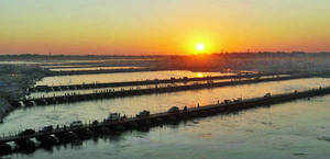 An inter-ministerial group has recommended that the projects in Ganga basin be re-engineered to maintain 30-50% of water flow in the lean period of December-March.