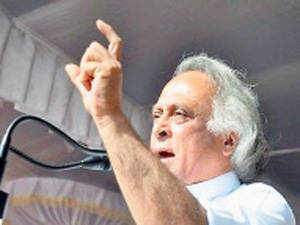 """Dismissing the talk of next general elections, union minister Jairam Ramesh today said elections were not """"a beauty contest""""."""