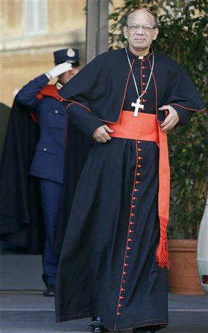 India's Oswald Gracias was among eight high-ranking cardinals from around the world who were today appointed by Pope Francis in an advisory council to look into ways of reforming the Vatican bureaucracy.