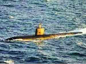 The first of the six Scorpene submarines ordered by the Indian Navy from French firm DCNS in 2005, as part of the technology transfer between the two countries, will be rolled out by 2014, France's top diplomat in India said today.