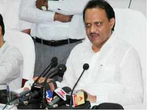 The division between supporters was evident at Ajit Pawar's one-day 'repentance fast' at Karad in south Maharashtra on Sunday.