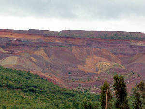 Maharashtra State Mining Corporation said it has produced 6,299 metric tonnes of minerals till the third quarter of fiscal year 2012-13.