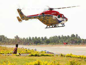 Space crunch may hit parking of helicopters and small airplanes at the two airports in Mumbai, with the AAI planning to implement stringent guidelines to decongest the aerodromes and their runways.