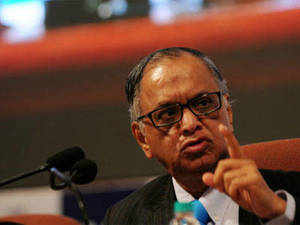 """""""Murthy famously said that 'the power of money is to give it away' and this is a statement he continues to live by,"""" read the award citation for India's IT guru."""