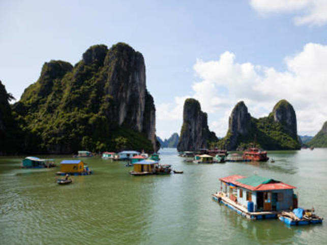 You may have heard of the beauty of Halong Bay, read about it a million times in spy novels and seen it in the movies. Take a boat cruise to explore the Bay.