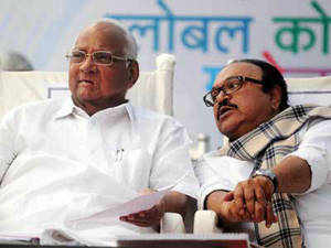 Narendra Modi's development model is a case of outsized projections, and his projection as PM candidate could work in Congress' favour, says Pawar.