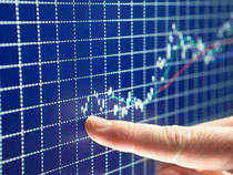 The S&P BSE Sensex was trading with gains of over 100 points in afternoon trade on Thursday, led by gains in HDFC, L&T and ITC.