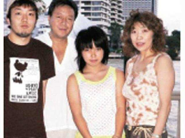 Daizo Ito, PRESIDENT, Panasonic India, on a family holiday in Bangkok.
