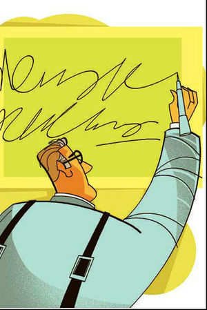 Truth is, in a world increasingly turning around passwords and Personal Identification Numbers, manual signatures are finding fewer takers.
