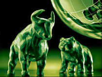 Markets closed with gains of nearly 300 points on Thursday buoyed by rate cut hopes and fall in commodity prices, which turned investors' sentiment bullish.