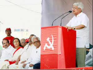 CPI(M) says it will work for the defeat of UPA as well as NDA in next Lok Sabha elections while looking to stitch a national alternative.