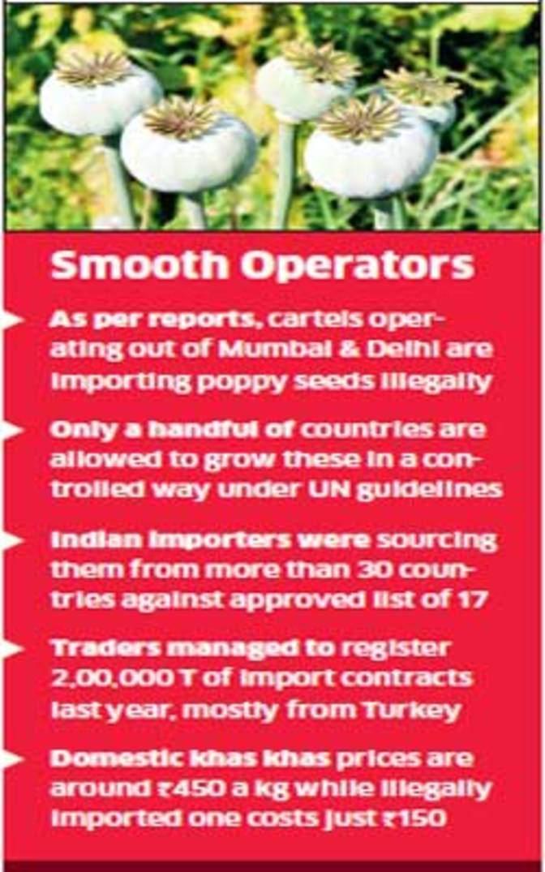Khas Khas seeds' import comes under lens, government fears