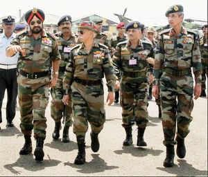 Army chief Bikram Singh reviews security status, troop formations in Doda