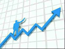 The S&P BSE Sensex surged over 100 points in morning trade on Thursday, ahead of April series F&O expiry.