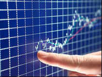 The 50-share Nifty Index surged over 60 points to hit its key psychological level of 5900 in trade today for the first time after March 15.