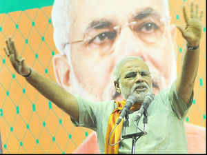 Narendra Modi renewed his attack on Rahul Gandhi, thereby minimising references to a BJP government widely regarded as unpopular.