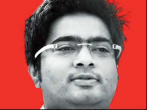 This is the same Abhishek who has been accused of running Ponzi schemes akin to the failed Saradha group by CPM's Goutam Deb, a former minister.