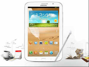 The 3G-enabled tablet is powered by Android Jelly Bean OS and runs on 1.6 GHz quad-core processor with 2 GB (RAM), Samsung Electronics said. (Image: samsungindiaestore.com)