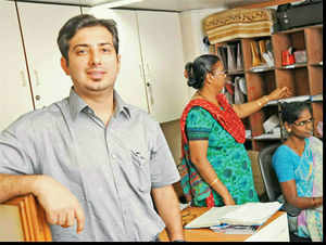 Shunning well-worn path, Dhruv Lakra has generated employment for one of the most marginalised groups in India, deaf adults.
