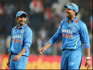 Paceman Irfan Pathan and Vinay Kumar also forced their way into the team announced by BCCI Secretary Sanjay Jagdale.
