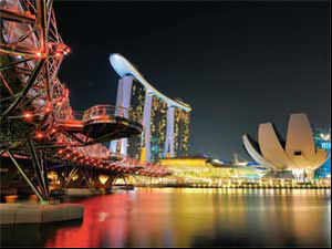 A friendly tax regime and sundry sops make the Lion City a favourite of Indian entrepreneurs, industrialists & students.