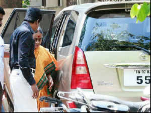 M Karunanidhi's wife Dayalu Ammal moved an application seeking exemption from appearance due to ill health in 2G spectrum case.